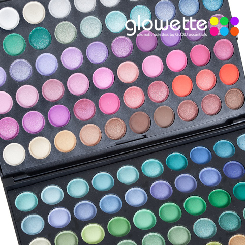 GLOWETTE� 120 Shade Eye Palette - Rainbow
