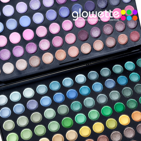 GLOWETTE� 120 Shade Eye Palette - Tropical