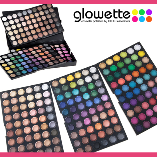 GLOWETTE� 180 Shade Eye Palette - Earth
