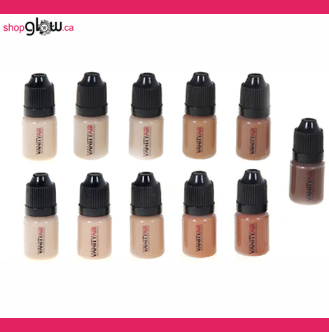 VANITYAIR™ Airbrush Foundation Set (12 PACK)