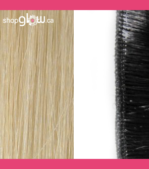 Ash Blonde Machine Weft Hair