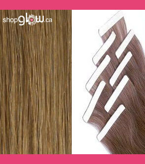 Chestnut Blonde Double Tape Hair