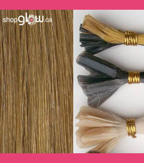 Chestnut Blonde U-tip Hair
