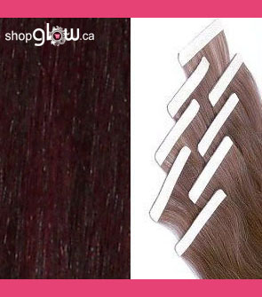 Mahogany Double Tape Hair