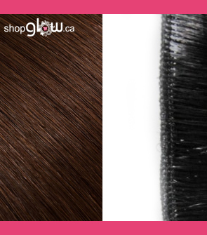 Chocolate Brown Machine Weft Hair