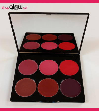 GLOWETTE™ 6 Shade Lip Palette