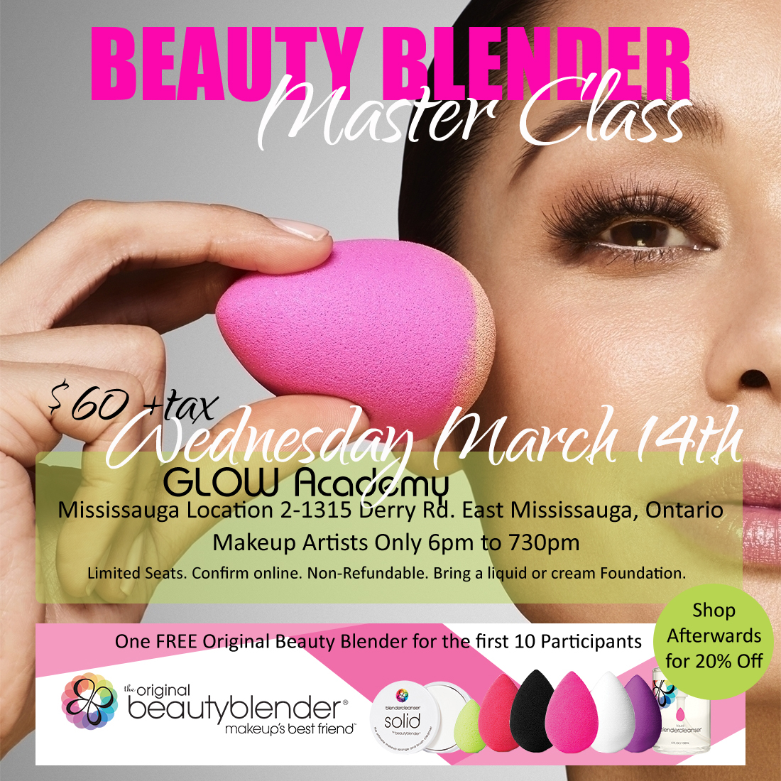 BEAUTY BLENDER MASTER CLASS