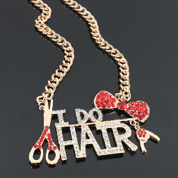 'I DO HAIR' Necklace